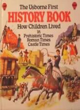First Book of History by Jane Chisholm (1982, Hardcover)