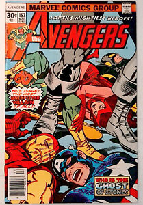 Avengers-157-Marvel-1977-VF-Bronze-Age-Comic-Book-1st-Print