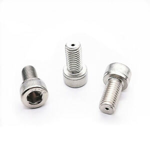 2pcs M10 Cap Head Hollow Screw Bolt Allen Through Hole Screws Thread Pass Bolt Ebay