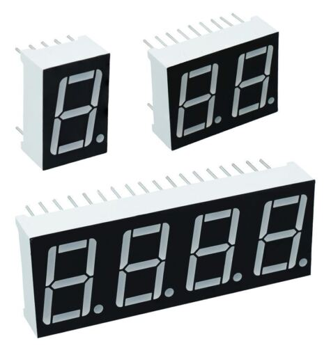 "7 Segment 0.56/"" LED Displays Common Cathode or Anode"