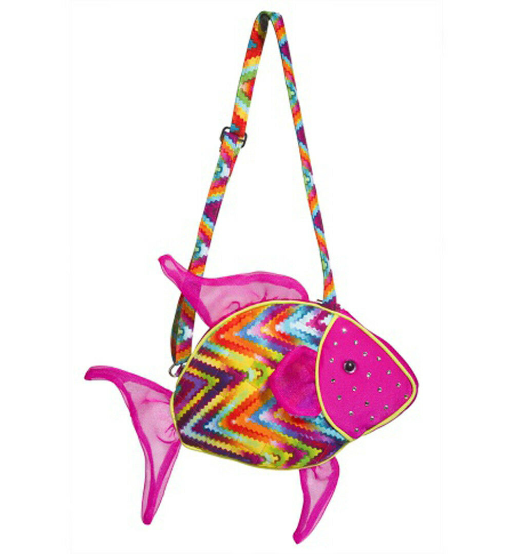 DOUGLAS Cuddle Toys Tropical Fish Sillo Purse - 2261 NEW