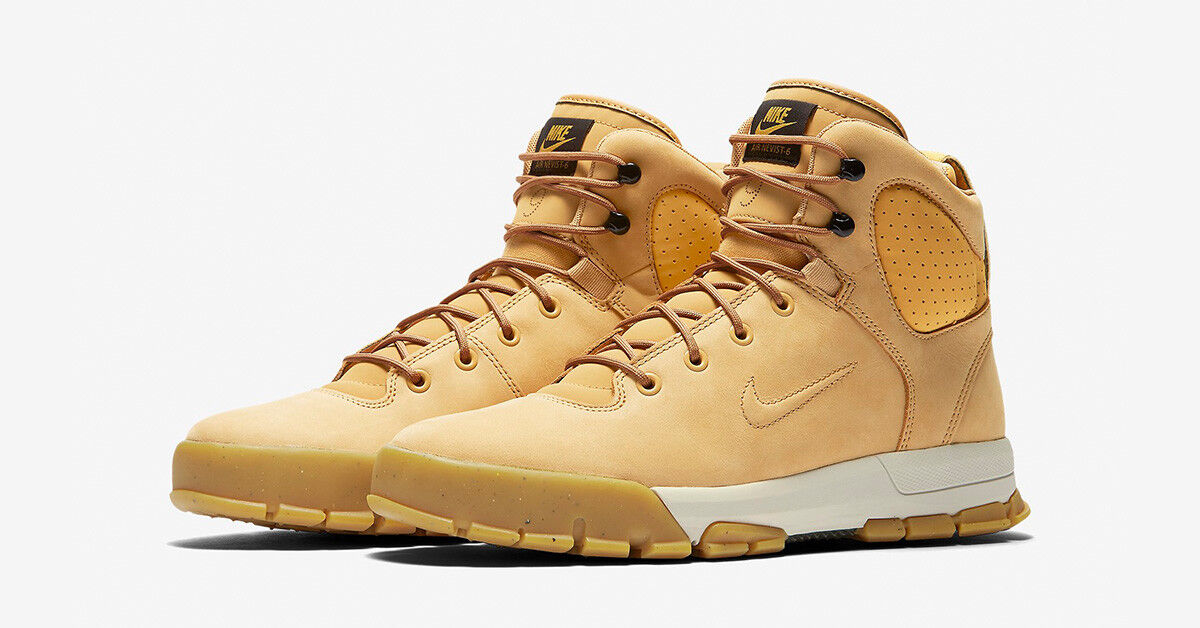 Men's Nike ACG Nevist-6 Leather Boots Haystack Birch Sizes 8-13 NIB 454402-772