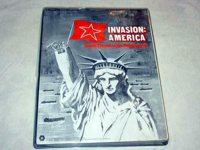 SPI 1976 - invasion  The Juego Juego Juego of America - the Death of the súperpotencia (puncd) 396