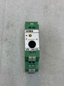 USED HIMA VR-H4135 SAFETY RELAY H4135