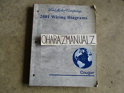 2001 FORD Mercury Cougar Wiring Diagrams Manual OEM | eBay