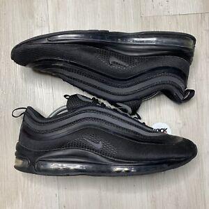 Inodoro Apropiado obturador  Nike Air Max 97 Ultra 17 Triple Negro Zapatillas Talla 9 EU 44 | eBay