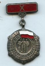 Poland  Polish 10 Years of the Armed Forces Medal