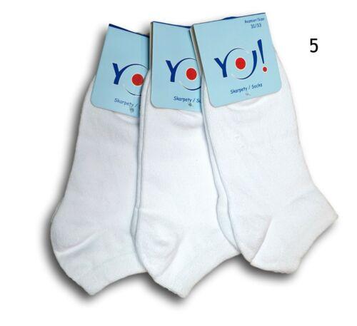 Le ragazze adolescenti Bambini Donne Donna Cotone Tinta Unita Alla Caviglia Scarpe da ginnastica Calze 3 PAIA