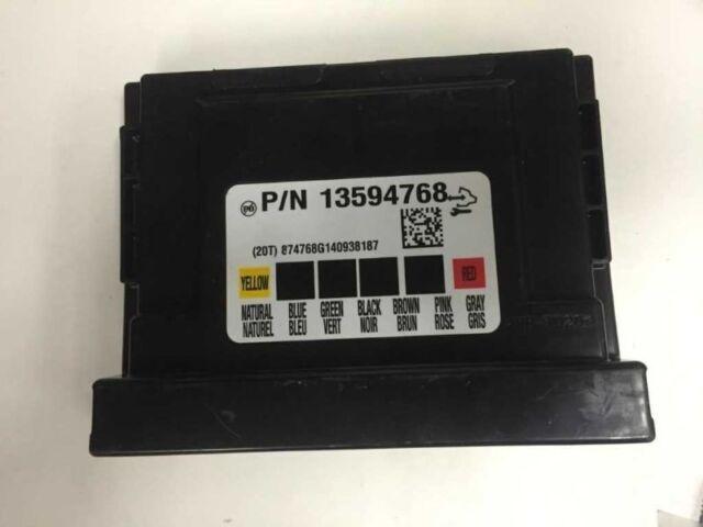 2015 Chevy Silverado Gmc Sierra 2500hd Body Control Module Bcm Rhebay: Silverado Body Control Module Location At Gmaili.net