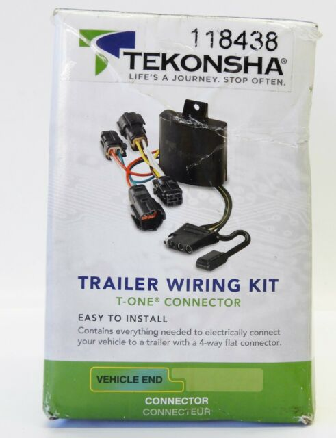 Trailer Hitch Wiring Tow Harness For Honda Odyssey 2005
