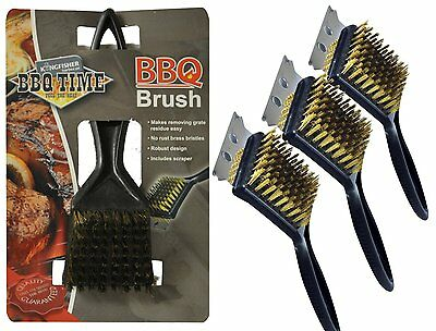Tuin en terras Barbecue BBQ Cleaning Brush Oven Grill 30cm