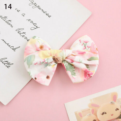 BaBy Girl Floral Hair Band Bows Headbands Ponytail Tie Hair Accessory Scrunchies