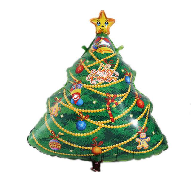 Top  Christmas Tree Aluminum Foil Balloon Christmas Party Decor Merry Xmas Gift