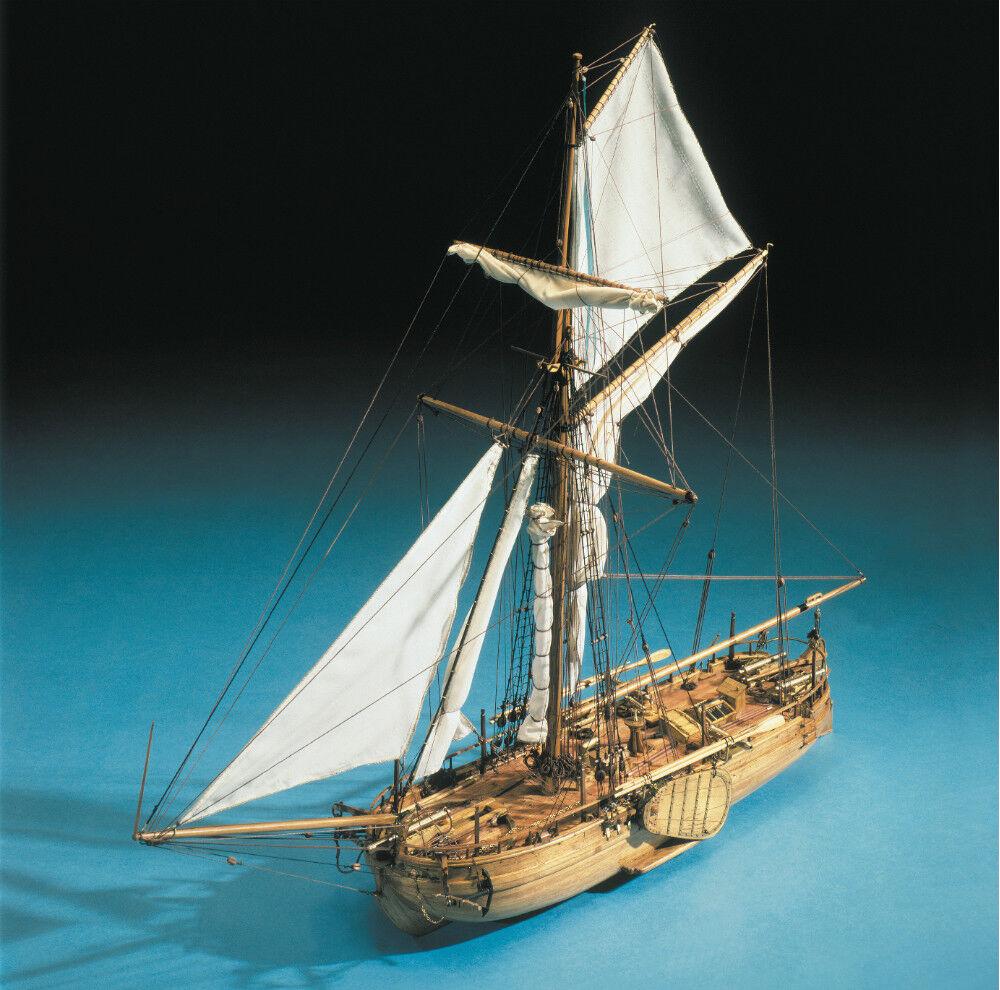 Mantua Models Dutch Naval Gunboat Cannoniera Olandese 1 43 Model Kit