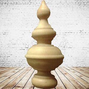 Holzwaren Applikation 2 Türmchen Buche 45x110 Mm Geschliffen Unbehandelt Für Stuhl Uhr Schnelle WäRmeableitung Heimwerker