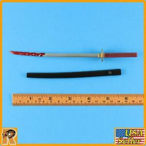Wolfking Action Figures Katana Red Long Sword Metal B #3-1//6 Scale
