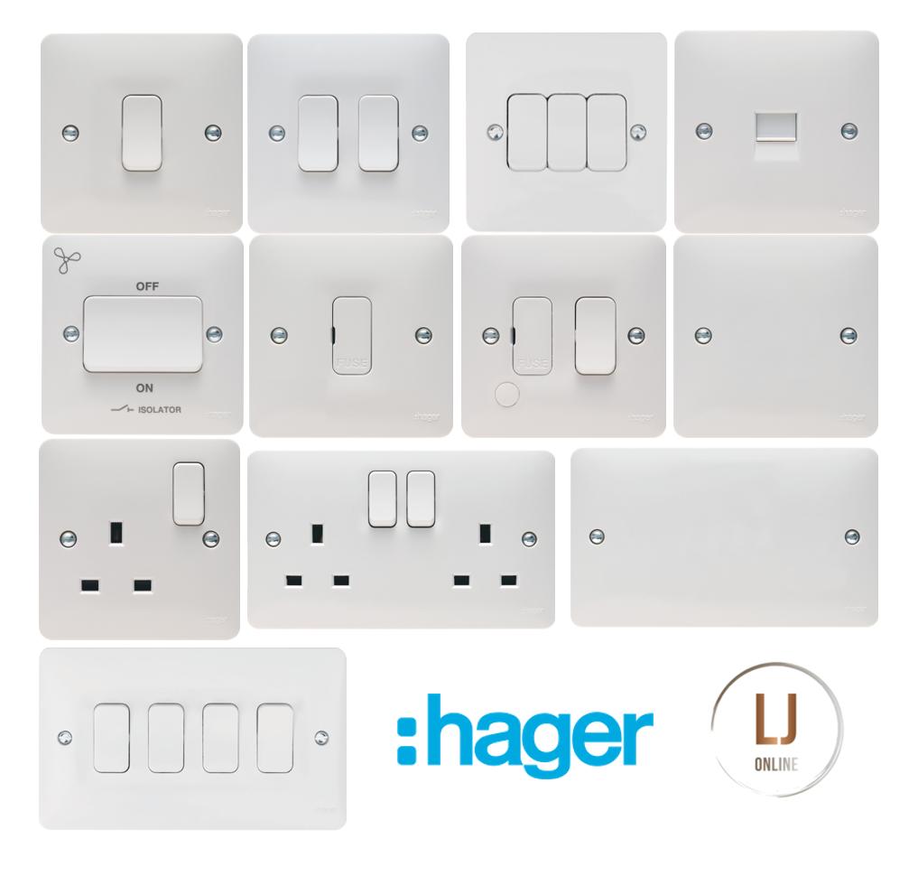 Hager Sollysta 20A Intermediate Grid Switch