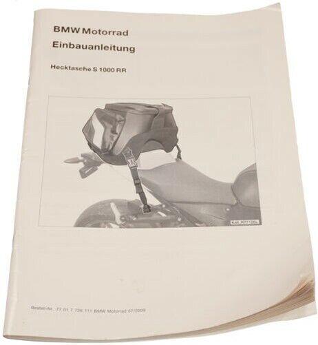 Bmw K46 S1000rr K42 Hp4 Seat Tail Bag Install Manual