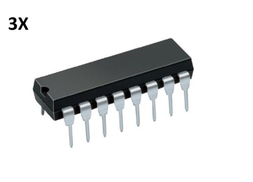3 INTEGRATO SN74HC595N 74HC595 8 BIT SHIFT REGISTERS Arduino circuito DIP-16
