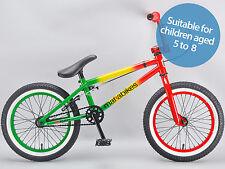 Mafiabikes BB Kush 16 inch bmx bike kids child's Mafia in Rasta  kush 2