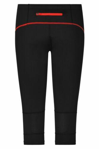 James Nicholson 481 Ladies Running Tights 3//4 Womens Running Pants XS-2XL