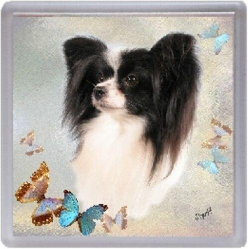 Papillon Coaster Design No 1 by Starprint