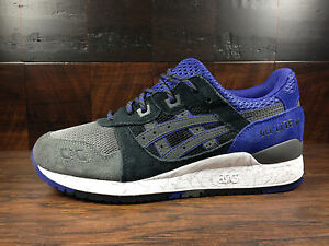 712cc75cfbc89 Asics GEL-LYTE 3 III (Black Electric Purple) SUEDE H521N-9090 HIGH ...