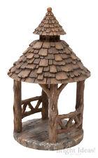 Vivid Arts - MINIATURE WORLD FAIRY GARDEN HOME ACCESSORIES - Wooden Gazebo