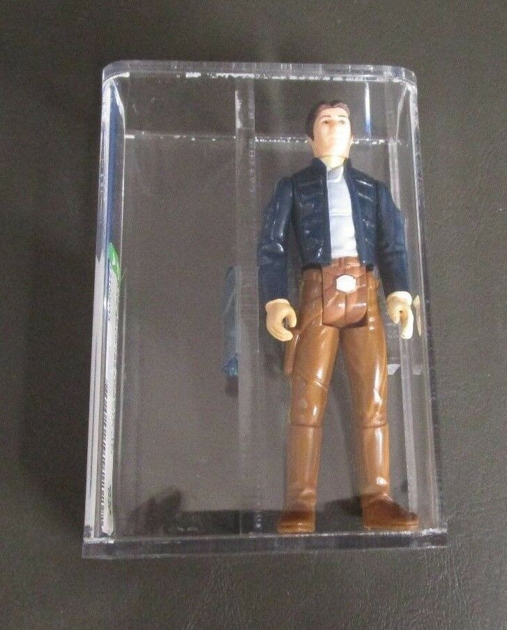 Han Solo Bespin 1980 STAR WARS classés figurine Autorité 80 Presque comme neuf Hong Kong COO