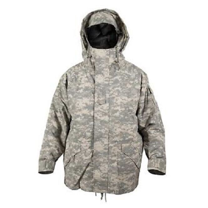 US ECWCS Parka Army UCP ACU AT Digitalt Cold Wet Weather camo Jacke XXL