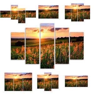 TOP-LEINWAND-BILD-BILDER-54-Muster-MODERN-HD-ART-Sonnenuntergang-2530