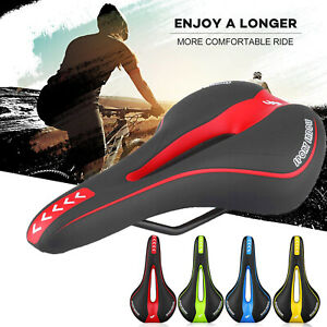 Mountain-MTB-Gel-Extra-Comfort-Saddle-Bike-Bicycle-Cycling-Seat-Soft-Cushion-Pad