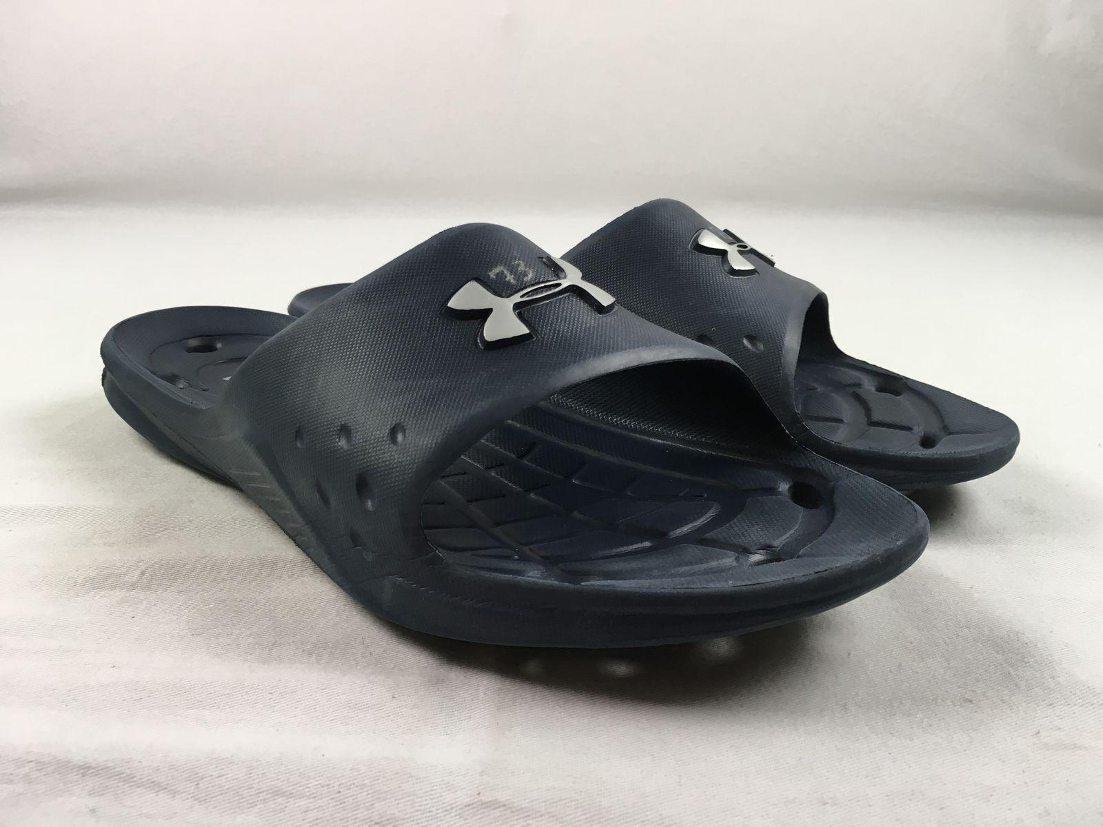 979be6caf05e0 Under Armour - Blue Sandals       Flip Flops (Men s 15) - Used 329c41