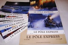 LE POLE EXPRESS  ! Robert Zemeckis  jeu photos cinema lobby cards animation
