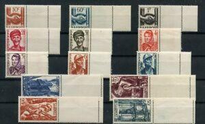 Germany-Saar-Saarland-vintage-yearset-1948-Mi-239-8487-3oz-Mint-MNH
