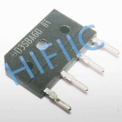5pcs SHINDENG D20XB60 ZIP-4 General Purpose Rectifiers 600V 20A