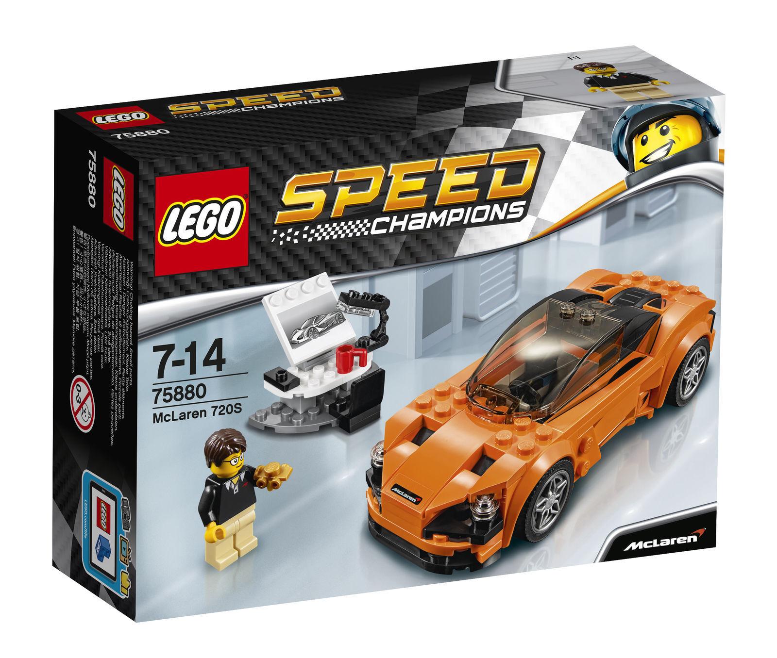 LEGO Speed Champions McLaren 720 S  2017 (75880)  magasiner en ligne aujourd'hui