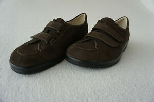 ECCO Damen Schuhe Leder Nubuk Braun Gr.39 Neuwertig | eBay