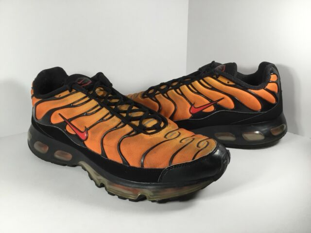 new product c27d3 8a2c6 ... Nike Air Max Plus 360 TN Orange Red Black 2008 Mens Size 13 Rare  333609- ...