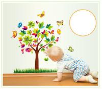 Schmetterling Wandtattoo Wandsticker Baum Kinderzimmer Dekorative Neu 16