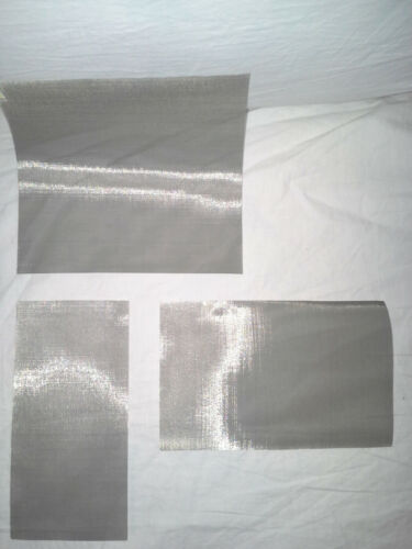 """Pressing screen T-316 100 Micron SS screen 5/"""" x 5/"""" Filtration Extracts prod"""