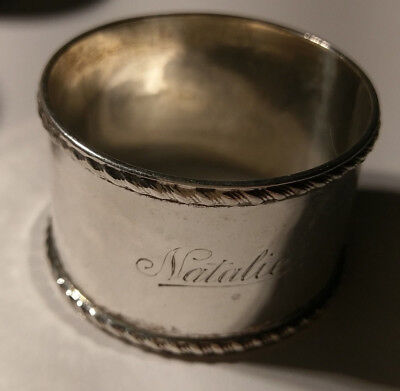 Serviettenring - 925-er Silber Sheffield 1909