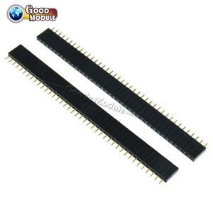 3PCS-40Pin-2-54mm-Single-Row-Straight-Female-Pin-Header-Strip-PBC-Ardunio-GM