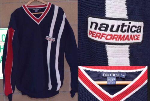 Vtg 90s Nautica Competition Performance Sweatshirt