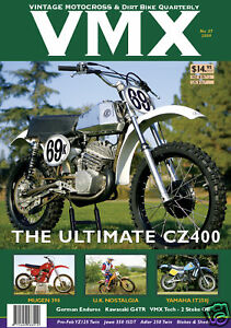 Issue #37 VMX Vintage MX /& Dirt Bike AHRMA Magazine