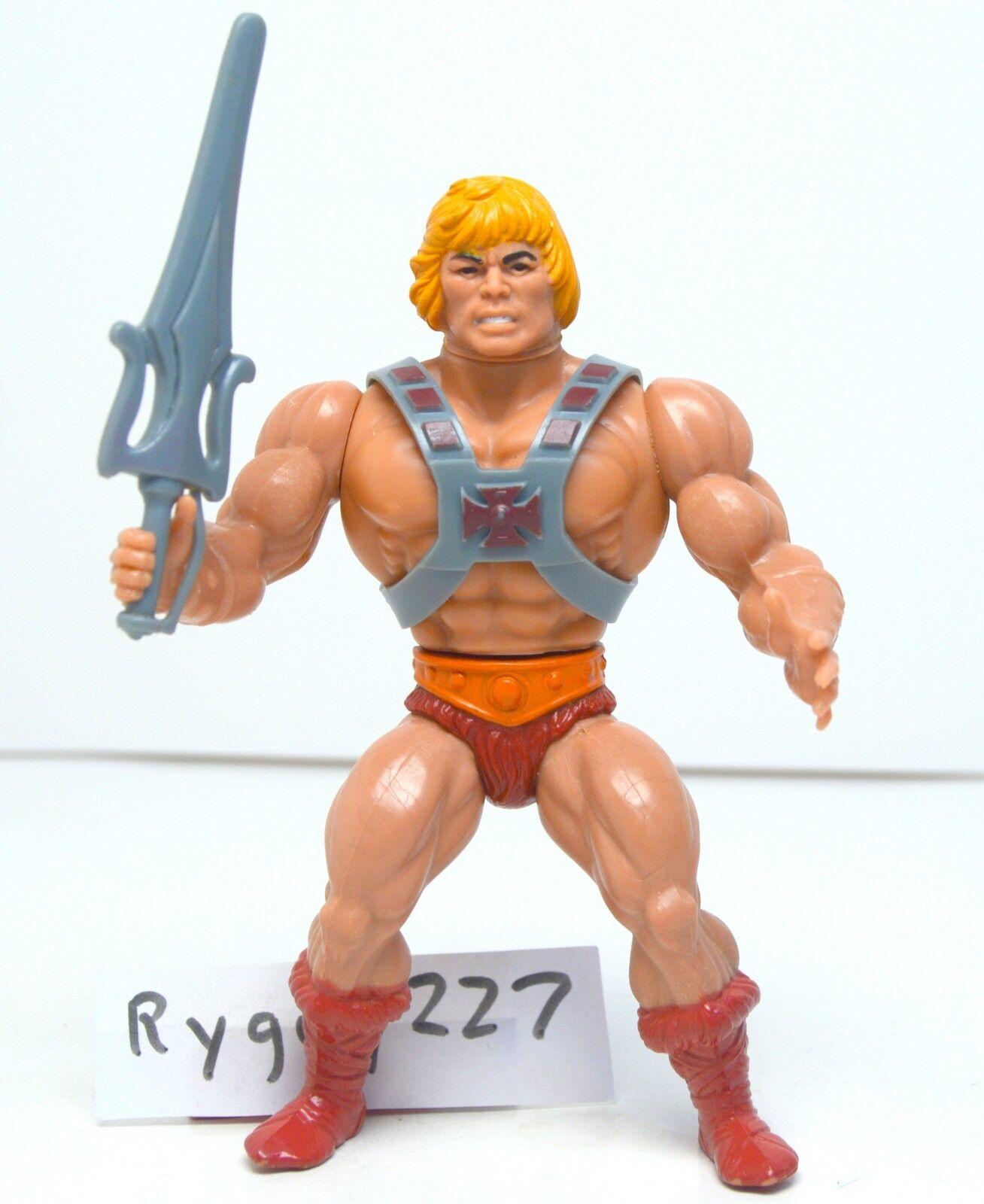 MOTU, He-Man, Masters of the Universe, vintage, original, figure with sword