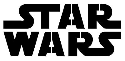 Star Wars Logo stencil - A4/A5/A6 | eBay