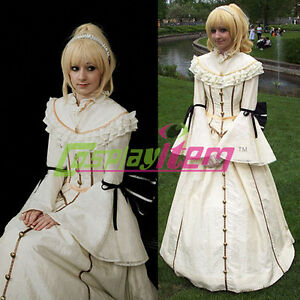 b873962db74dc Image is loading Beige-Europe-Royal-Medieval-Renaissance-Ball-Gown-Victorian -