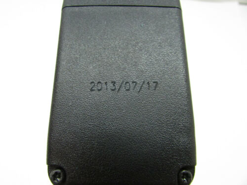 2013 TOYOTA PRIUS C FRONT RIGHT SEAT BELT BUCKLE BLACK OEM 12 13 14