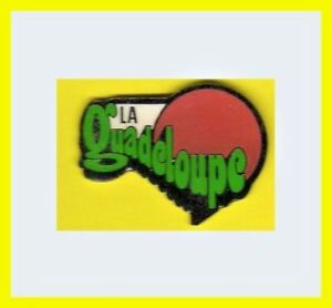 Pin-039-s-lapel-pin-pins-Region-ile-Departement-de-la-Guadeloupe